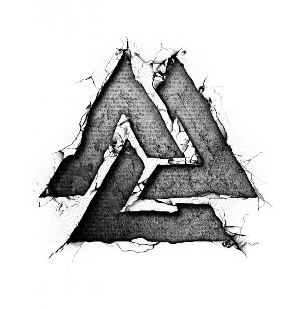 Valknut – nordycki symbol wojowników (damska)