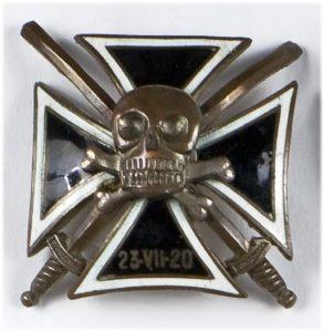 Symbol czaszki również występował w polskich jednostkach - Huzarzy Śmierci