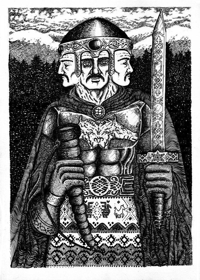 Świętowit - bóg o czterech twarzach